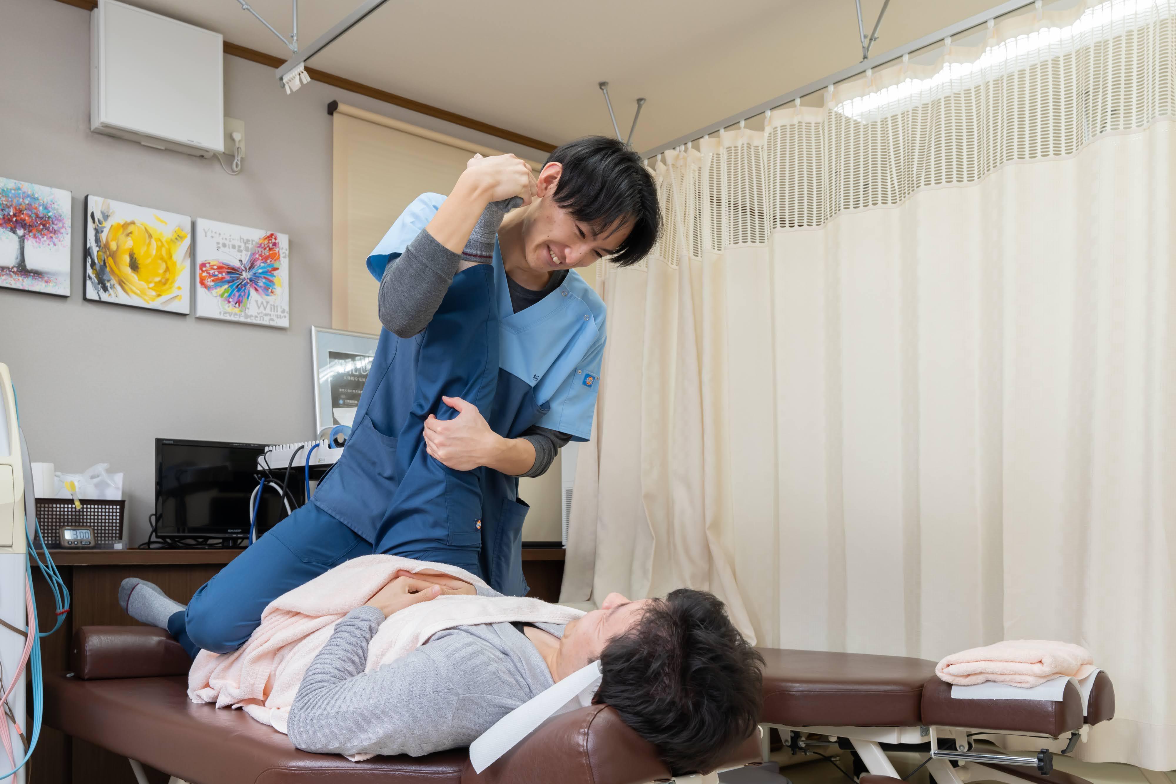 【いまがわ整骨院】鍼灸師の画像