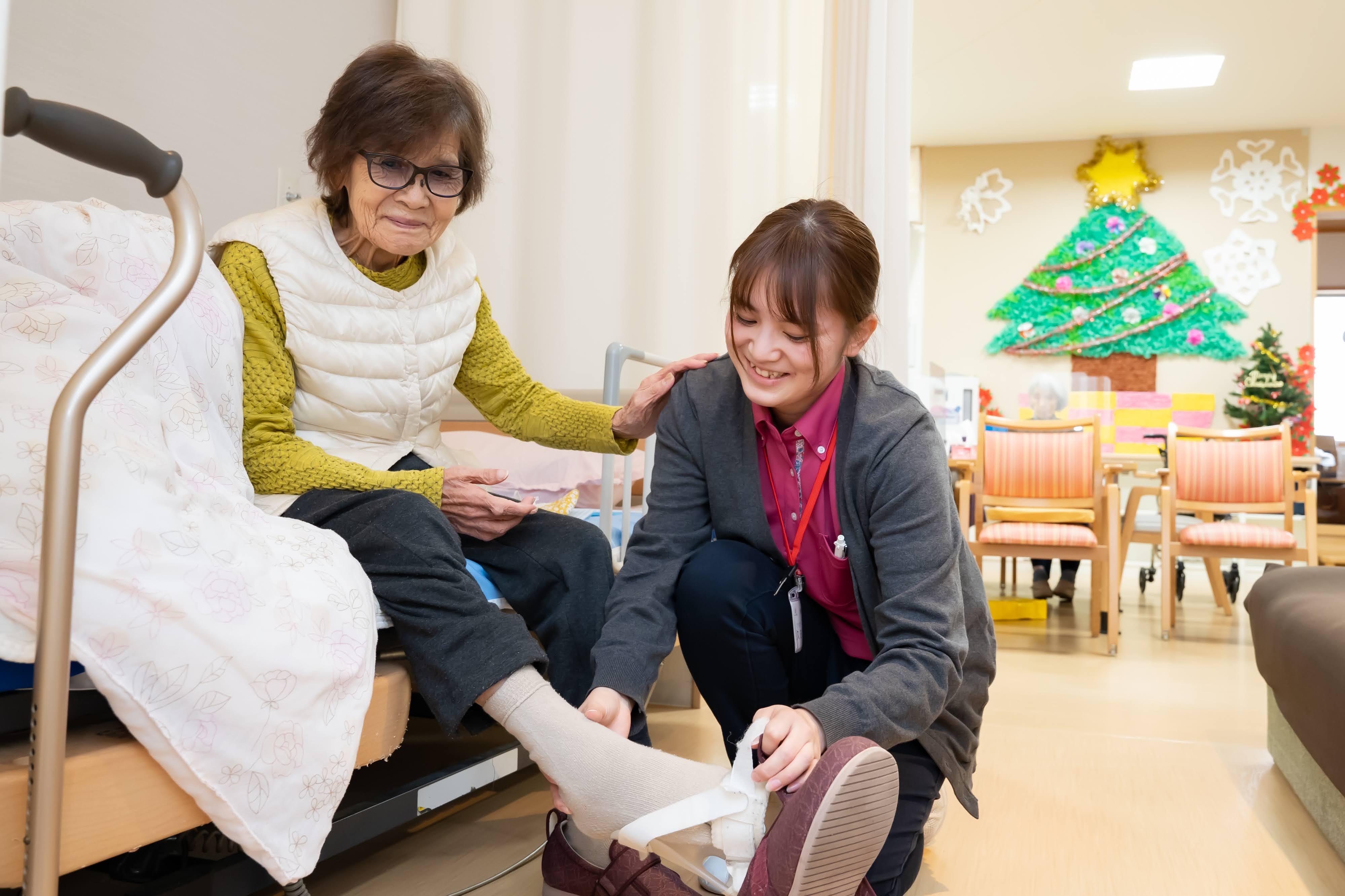 【デイサービスはぁと】介護職員の画像